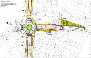 Grafik Kreisverkehr Gildenstr